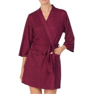 Kate Spade Embroidered Sweater Robe-NWT-Medium